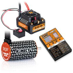 Combo brushless 80amp SCT WP moteur 4p 3700kv + carte de programmation