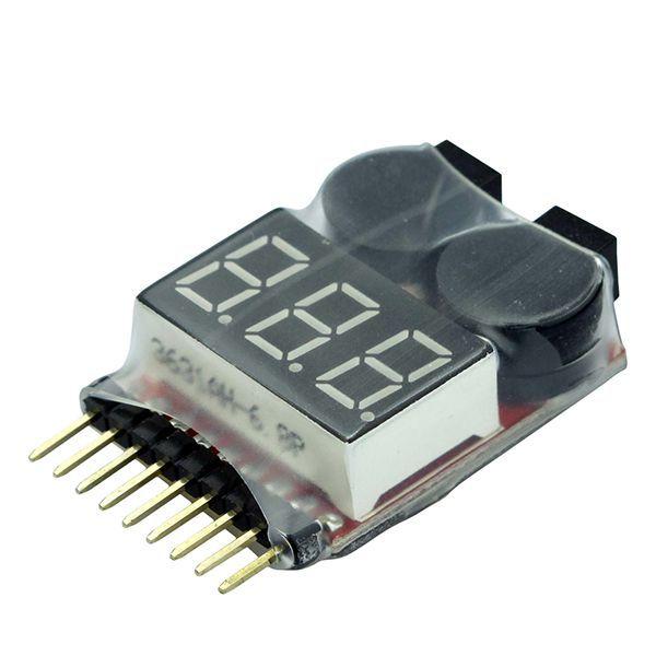 Contrôleur Li-Po à led pour batteries de 1 à 8S