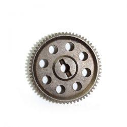 Couronne centrale en métal 64 dents pour voiture absima