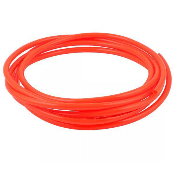 DURIT SILICONE ROUGE FLUO 1M