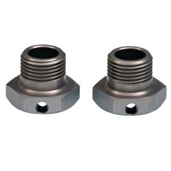 Hexagones de roue 17mm offset 1mm mugen E0240
