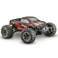 High speed monster truck noir rouge 1/16 35km/h absima 16001