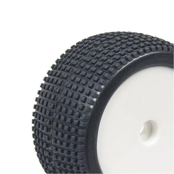 Hobbytech pneus buggy arrière 1/10eme sur jantes pleines