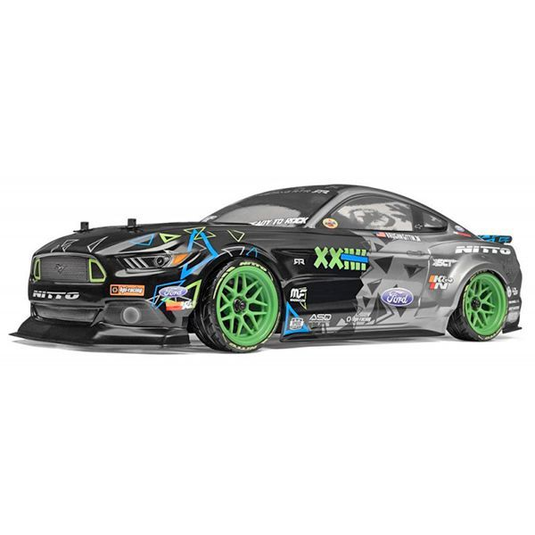 voiture rc hpi rs4 sport 3 drift mustang vaughn gittin 115984. Black Bedroom Furniture Sets. Home Design Ideas
