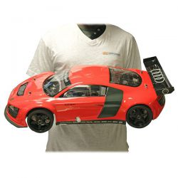 INFERNO GT2 AUDI R8 LMS ROUGE KYOSHO