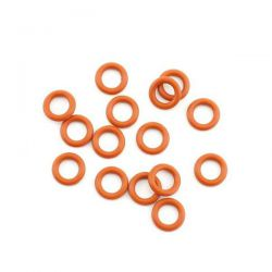 Joints toriques en silicone p6 orange kyosho