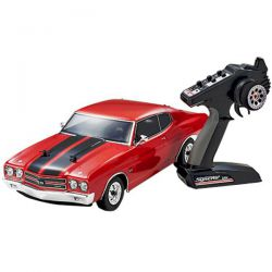Kyosho fazer vei chevy chevelle ss 1970 rouge 34053t1