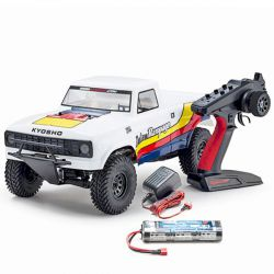 Kyosho outlaw rampage ep 2wd blanc rtr 34361t1