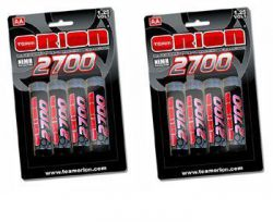ORI13502_X2 PILES RECHARGEABLES ORION