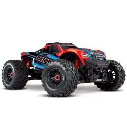 Maxx 4s 4wd Brushless tqi tsm rtr traxxas rouge-x 89076-4-REDX