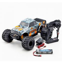 Monster tracker 1/10 ep 2wd orange rtr kyosho 34403t2