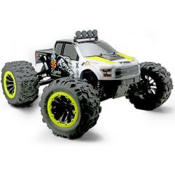Monster truck 1/8 raptor e6 jaune team magic 505007Y