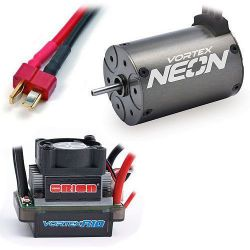 Combo brushless pour voiture rc