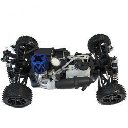Pack eco buggy mhd flash 4wd bleu