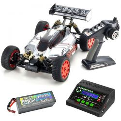 Pack eco kyosho inferno ve 1/8ème brusless
