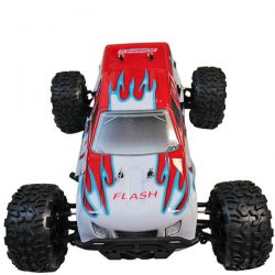 Pack eco monster truck flash 4wd mhd rouge