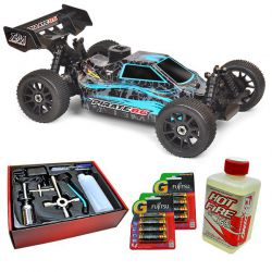 Pack eco pirate 8.6 carrosserie bleu t2m t4794