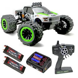 Pack eco raptor e6 team magic 505007 monster truck 1/8 brushless