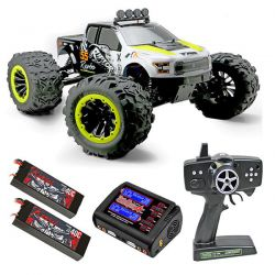 Pack eco raptor e6 team magic 505007y monster truck rc 1/8