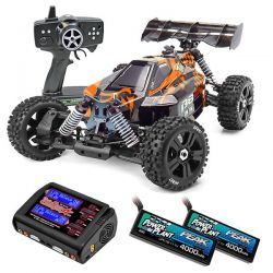 Pack eco team magic b8er 6s 1/8 brushless orange