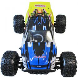 Pack eco truggy flash 4wd mhd bleu