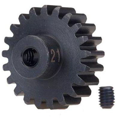 Pignon 21 dents et 32 dps pour moteur electrique traxxas 3951x