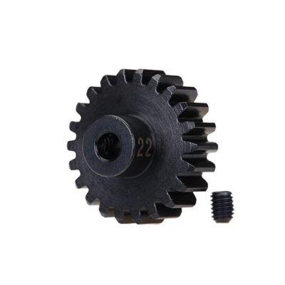 Pignon 22 dents et 32 dps pour moteur electrique traxxas 3952x