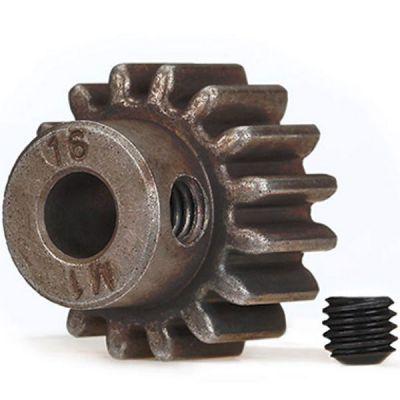 Pignon moteur métal 16 dents traxxas 6489x