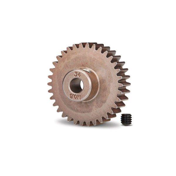 Pignon moteur métal 34 dents traxxas 5639