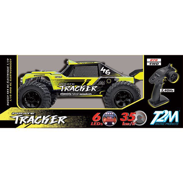 Pirate tracker t2m buggy 1/10 4wd rtr