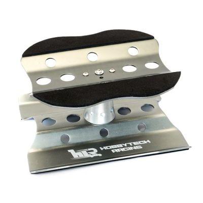 plateau tournant en aluminium gris metal hobbytech ht 421800gm. Black Bedroom Furniture Sets. Home Design Ideas