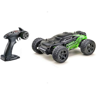 Power truggy 4wd 1/14 noir et vert Absima 14002