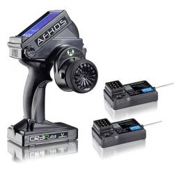 RADIO 3 VOIES ABSIMA CR3P + 2 RECEPTEURS 2.4GHZ WATERPROOF