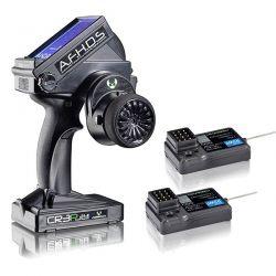 RADIO 3 VOIES ABSIMA CR3P + 2 RECEPTEURS 2.4GHZ WATERPROOF