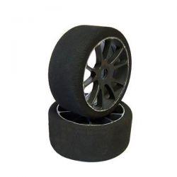 Roues rally game 1/8 pneus mousse 42°