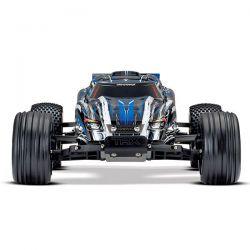 Rustler xl-5 traxxas bleu 37054-1
