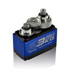 Servo coroless waterproof 23Kg pignons métal Power HD WP-23KG