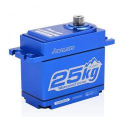 Servo waterproof boitier alu 25kg pignons métal Power HD LW-25MG