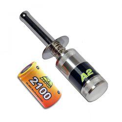 Soquet métal avec accu 2100mah a2pro