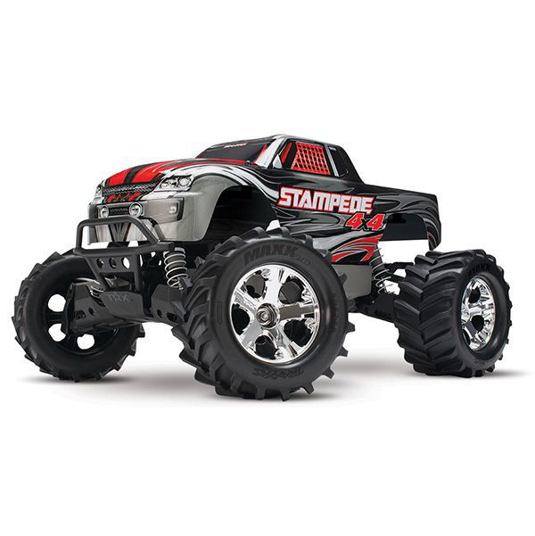 stampede xl 5 4wd traxxas 67054 1 batterie id chargeur rapide monster truck 1 10. Black Bedroom Furniture Sets. Home Design Ideas