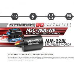 STRADA DC DRIFT 1/10EME BRUSHLESS 4WD MAVERICK