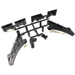 """Support d'aileron """"high traction"""" pour kyosho inferno mp9"""