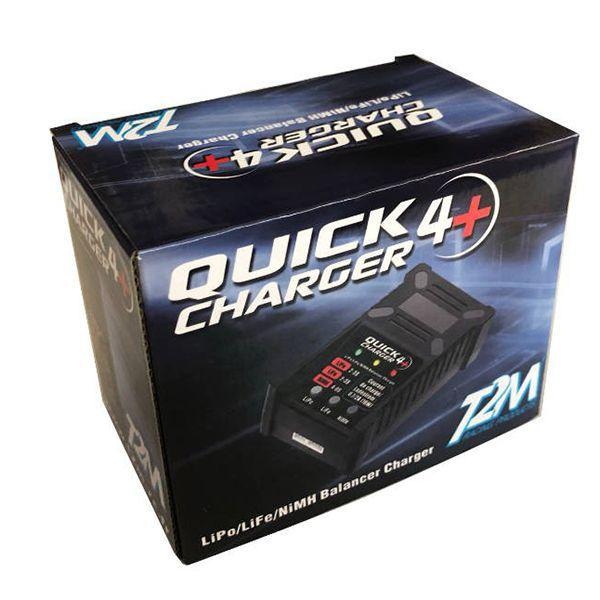 T2m quick charger 4+ pour li-po li-ion li-fe et ni-mh