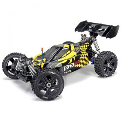 TEAM MAGIC B8ER JAUNE ET NOIR BUGGY 1/8ÈME BRUSHLESS