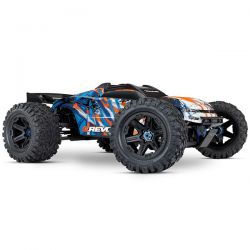 Traxxas e-revo vxl 6s new orange et bleu 86086-4