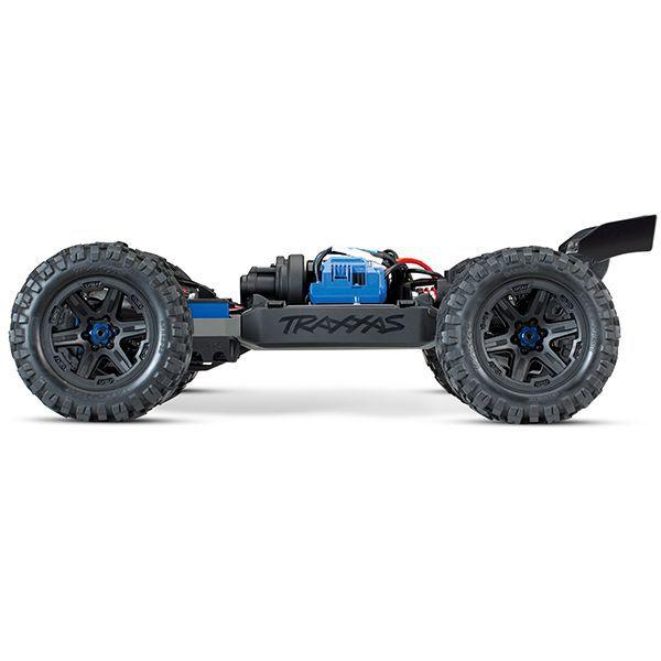Traxxas e-revo vxl 6s new orange et bleu 86086-4