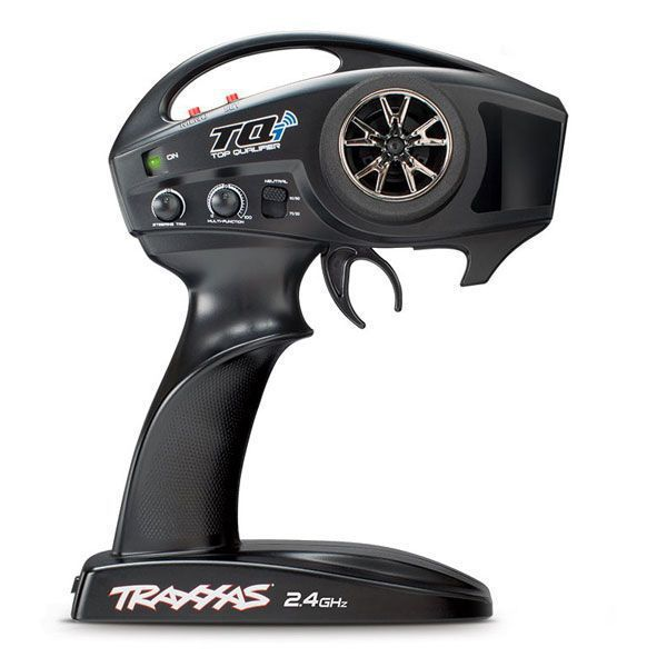TRAXXAS E-REVO VXL AVEC TQI ET TSM
