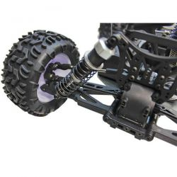 Truggy 1/10 thermique 4wd flash mhd bleu
