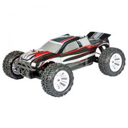 Truggy 1/10 thermique 4wd flash mhd rouge