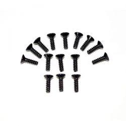 Vis cruciforme tête fraisée m3x10 pour plastique